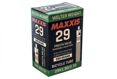 chambre a air maxxis welter weight 29 1 90 2 35 presta 48mm