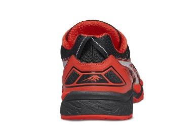 Chaussures de Trail Asics Gel Fujitrabuco 5 Noir / Rouge