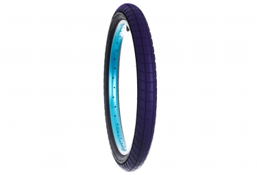 pneu flybikes fuego bleu flancs noir 2 30