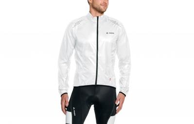 veste coupe vent vaude pro windshell lw blanc noir s