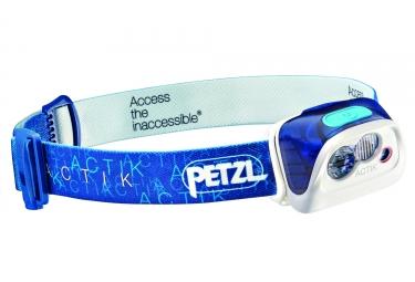 lampe frontale petzl actik bleu