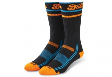 chaussettes dakine step up 2017 noir bleu orange 43 46