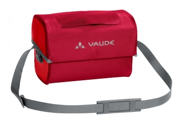 sacoche de guidon vaude aqua box rouge