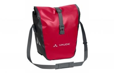 paire de sacoches avant vaude aqua front rouge