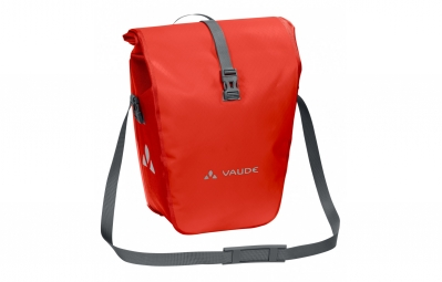 paire de sacoches arriere vaude aqua back orange