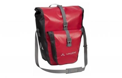paire de sacoches arriere vaude aqua back plus rouge