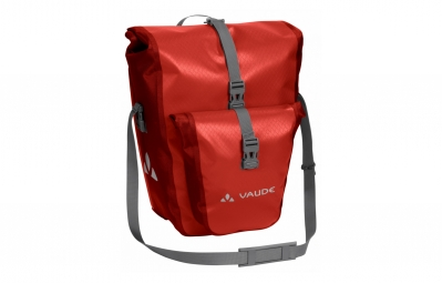 Paire de sacoches arriere vaude aqua back plus orange