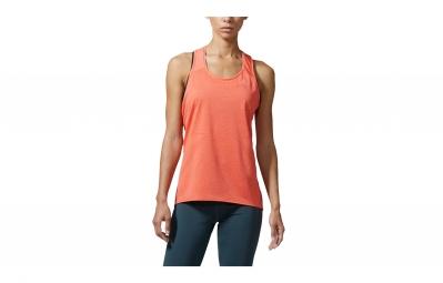 Camiseta adidas running mujer Tank SUPERNOVA naranja