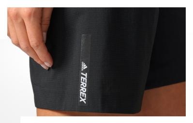 Short de Sport Femme adidas running Terrex Agravic Noir