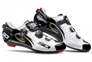 Chaussures Route Sidi Wire Carbon Noir-iride
