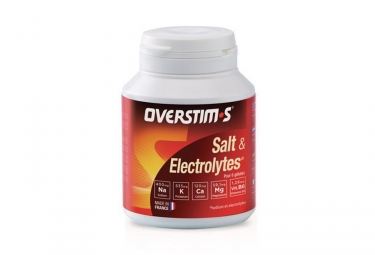 Overstims Salt & Electrolytes Food Supplement 60 capsule pill-box