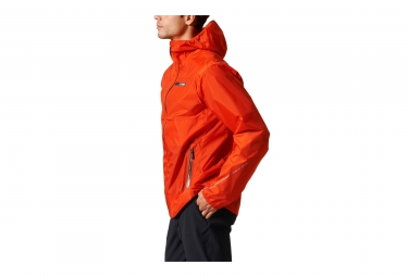 get cheap huge selection of usa cheap sale adidas running Waterproof Jacket Terrex Fast-Pack 2.5-Layer Orange