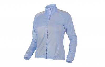 endura veste coupe vent pakajak femme bleu xs