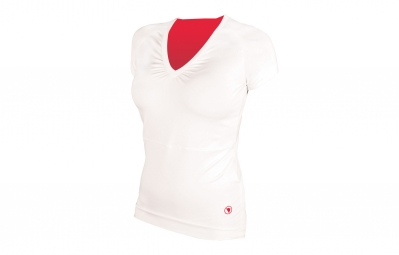 Women's Short Sleeve Jersey ENDURA SPORT White Rose