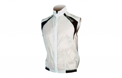 endura gilet coupe vent impermeable equipe blanc m