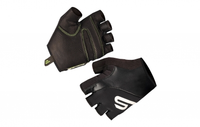 ENDURA Pair Short Black Gloves TEAM