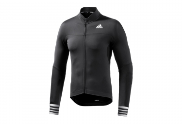 Maillot Manches Longues adidas cycling adistar CD.ZERO 3 Noir Blanc