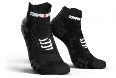 chaussettes compressport proracing v3 0 run smart basses noir 39 41