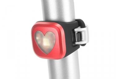 Eclairage Arrière Knog Blinder 1 Heart Rouge