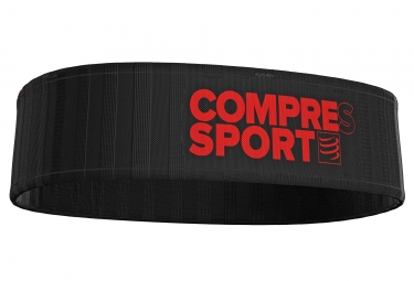 ceinture compressport free belt noir rouge xs s