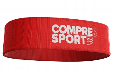 Ceinture compressport free belt rouge blanc m l