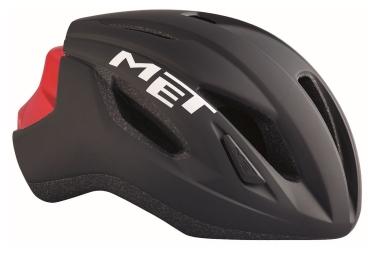 MET Strale Helmet Black Red