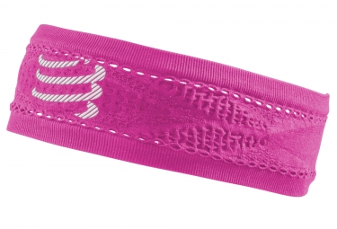 Compressport Headband Pink