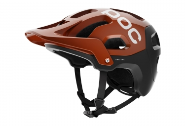 casque poc 2017 tectal marron xl xxl 59 62 cm