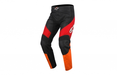 Pantalon alpinestars sight rouge orange noir 32