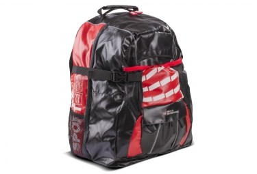 sac a dos compressport globe racer pack noir rouge