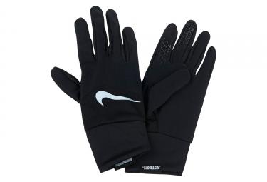 paire de gants femme nike dri fit tempo noir xs