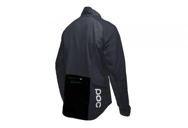 veste impermeable poc 2017 resistance pro xc noir l