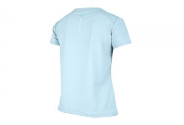 maillot manches courtes femme poc 2017 resistance enduro bleu s