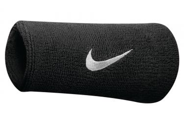 Bandeaux éponge Poignet Nike Swoosh Noir (Paire)