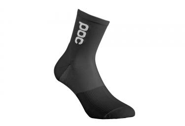 paire de chaussettes poc 2017 resistance pro xc noir 37 39