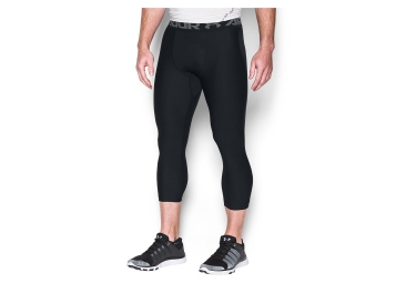 Collant 3/4 de Compression Under Armour HeatGear Armour Noir