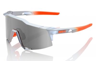 lunettes 100 speedcraft ll gris orange ecran fume