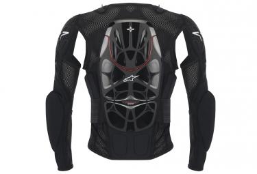 veste de protection alpinestars bionic 2017 manches longues noir blanc l