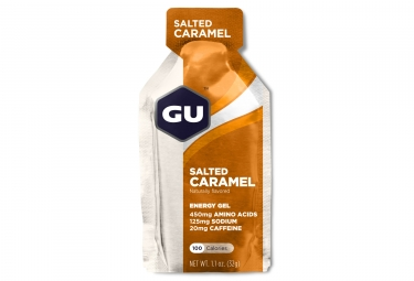 Gu gel energetique energy caramel beurre sale 32g