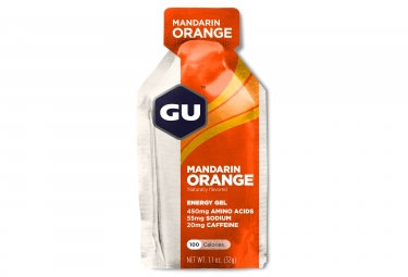 Gu gel energetique energy mandarine orange 32g