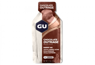 Gu gel energetique energy chocolat intense 32g