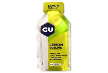 gu gel energetique energy citron intense 32g