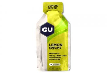 GU Gel énergétique ENERGY Citron Intense 32g