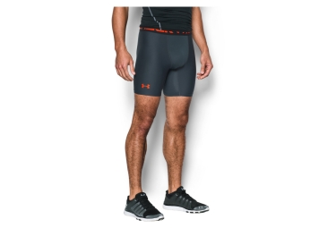 Cuissard de Compression Under Armour HeatGear Armour Gris Orange