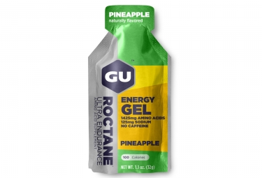 Gu gel energetique roctane ananas 32g
