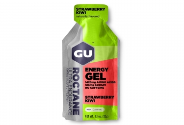 Gu gel energetique roctane fraise kiwi 32g