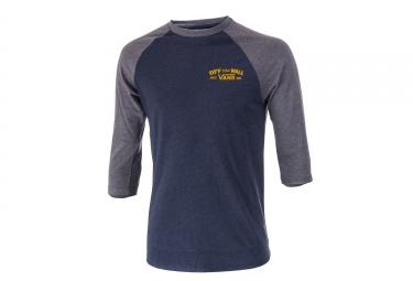 T-Shirt Manches 3/4 Vans Roll´Em Bleu Gris