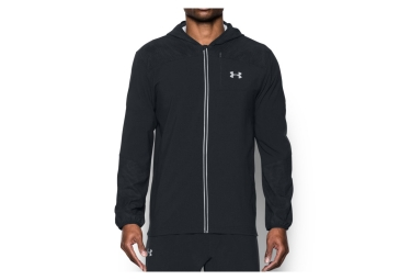 veste coupe vent deperlant under armour storm run printed noir s