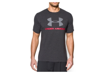 Under Armour Short Sleeves Jersey Sportstyle Logo Negro