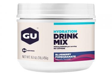 GU Boisson énergétique DRINK MIX Myrtilles Grenade 456g